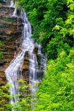Alta cascata Fotografia Stock Libera da Diritti
