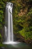 Alta cascata di Costa Rican Fotografie Stock