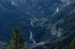 alta cascata lunga Fotografie Stock