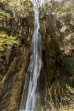 Alta cascata nella catena montuosa di Rhodope Fotografia Stock Libera da Diritti