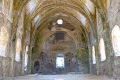 Alta chiesa da Kayakoy, Fethiye Immagine Stock
