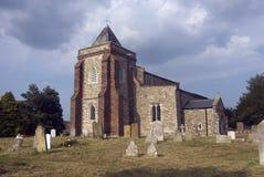 Alta chiesa di Halstow Immagini Stock Libere da Diritti