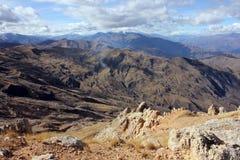Alta cima delle montagne di Dagestan Immagine Stock