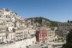 Alta città Sicilia Italia Europa di Ragusa Fotografia Stock Libera da Diritti