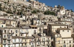 Alta città Sicilia Italia Europa di Ragusa Immagini Stock Libere da Diritti