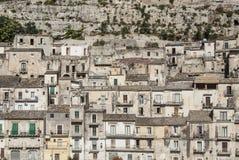 Alta città Sicilia Italia Europa di Ragusa Immagine Stock Libera da Diritti