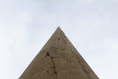 Alta colonna che esamina il cielo Fotografia Stock Libera da Diritti