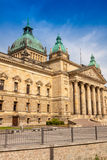 Alta corte, città di Lipsia Immagine Stock Libera da Diritti