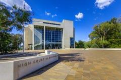 Alta corte dell'Australia, Canberra Immagine Stock Libera da Diritti