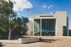 Alta corte dell'edificio dell'Australia, Canberra Fotografia Stock