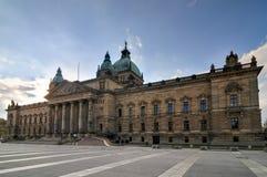 Alta corte dell'impero tedesco - Lipsia, Germania Immagine Stock Libera da Diritti
