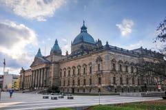Alta corte dell'impero tedesco - Lipsia, Germania Immagini Stock Libere da Diritti
