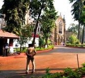 Alta corte e giardini di Mumbai Immagine Stock Libera da Diritti