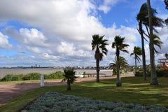 Alta costa della parte di Montevideo Fotografia Stock