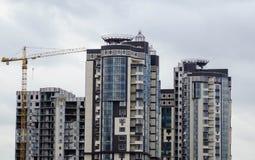 Alta costruzione Immagine Stock Libera da Diritti