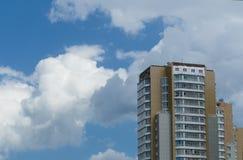 Alta costruzione Fotografia Stock Libera da Diritti