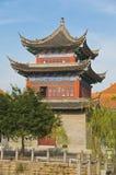 Alta costruzione antica cinese Immagine Stock