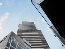 Alta costruzione a Bangkok fotografie stock libere da diritti