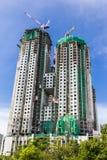Alta costruzione in costruzione Fotografia Stock Libera da Diritti