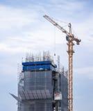 Alta costruzione in costruzione Immagine Stock Libera da Diritti