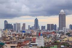 Alta costruzione della città Immagini Stock Libere da Diritti