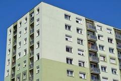 Alta costruzione di appartamento Fotografia Stock Libera da Diritti