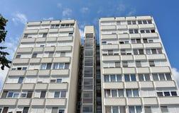 Alta costruzione di appartamento Fotografie Stock