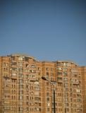 Alta costruzione di appartamento del piano Fotografie Stock