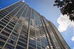 Alta costruzione di appartamento di aumento Fotografie Stock Libere da Diritti