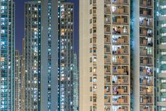 Alta costruzione di appartamento di aumento Fotografia Stock Libera da Diritti