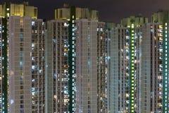 Alta costruzione di appartamento di aumento Immagine Stock