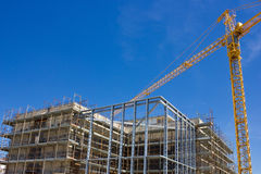 Alta costruzione di aumento Immagine Stock Libera da Diritti