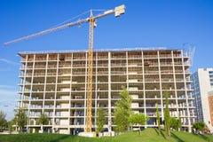 Alta costruzione di aumento Fotografie Stock