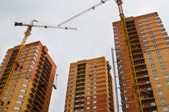 Alta costruzione di aumento Immagini Stock