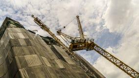 Alta costruzione di aumento Immagine Stock