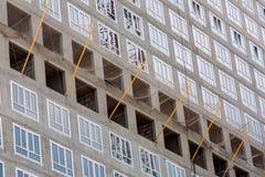 Alta costruzione di aumento in costruzione Fotografia Stock Libera da Diritti