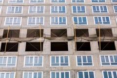 Alta costruzione di aumento in costruzione Immagini Stock