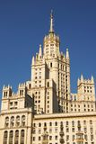 Alta costruzione di aumento di Mosca Immagini Stock Libere da Diritti