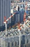 Alta costruzione di aumento di Tokyo Fotografie Stock Libere da Diritti