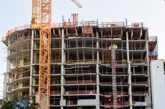 Alta costruzione di aumento in Florida Fotografia Stock Libera da Diritti