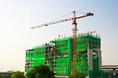 Alta costruzione di edifici Fotografie Stock