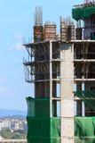 Alta costruzione di edifici Fotografia Stock