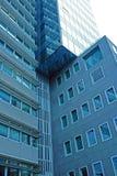 Alta costruzione di vetro di aumento Fotografia Stock Libera da Diritti
