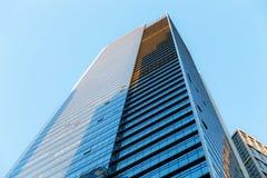 Alta costruzione di vetro porcellana della città Immagini Stock Libere da Diritti