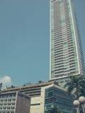 Alta costruzione a Jakarta Immagine Stock