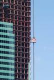 Alta costruzione moderna con il ele esterno della costruzione Fotografia Stock Libera da Diritti