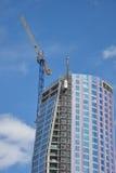 Alta costruzione moderna di aumento Fotografia Stock