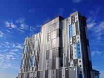 Alta costruzione moderna di aumento Fotografie Stock