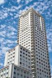 Alta, costruzione moderna a Madrid Immagini Stock Libere da Diritti