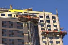Alta costruzione Portland Oregon di aumento Fotografia Stock